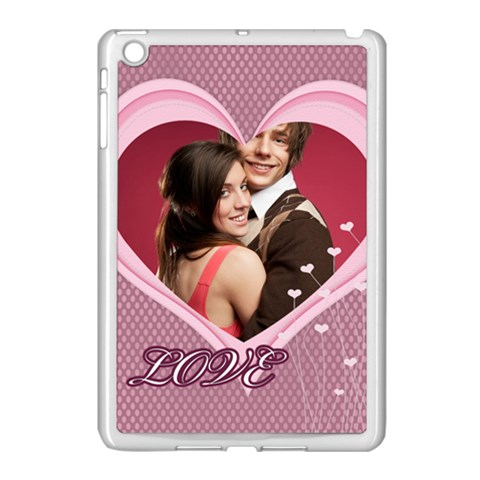 Love By Joely   Apple Ipad Mini Case (white)   Q0a5v0sbsb7b   Www Artscow Com Front