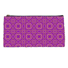 Purple Moroccan Pattern Pencil Case