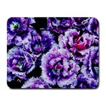 Purple Wildflowers Of Hope Small Mouse Pad (Rectangle)
