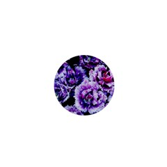 Purple Wildflowers Of Hope 1  Mini Button by FunWithFibro