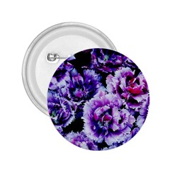 Purple Wildflowers Of Hope 2.25  Button