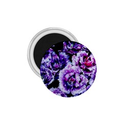 Purple Wildflowers Of Hope 1.75  Button Magnet