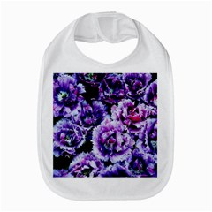 Purple Wildflowers Of Hope Bib by FunWithFibro