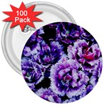 Purple Wildflowers Of Hope 3  Button (100 pack)