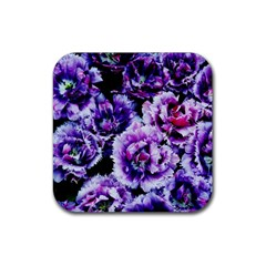 Purple Wildflowers Of Hope Drink Coaster (Square)