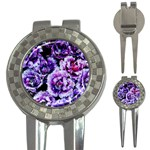Purple Wildflowers Of Hope Golf Pitchfork & Ball Marker
