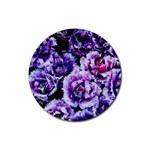 Purple Wildflowers Of Hope Drink Coasters 4 Pack (Round)
