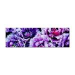 Purple Wildflowers Of Hope Bumper Sticker
