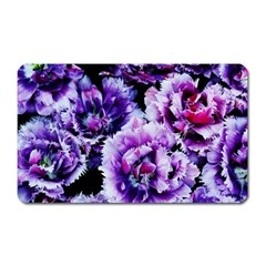 Purple Wildflowers Of Hope Magnet (rectangular) by FunWithFibro