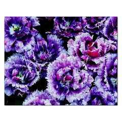 Purple Wildflowers Of Hope Jigsaw Puzzle (rectangle) by FunWithFibro