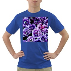 Purple Wildflowers Of Hope Men s T-shirt (Colored)