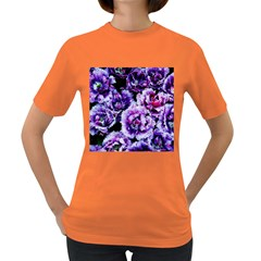 Purple Wildflowers Of Hope Women s T-shirt (Colored)
