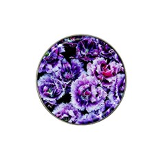 Purple Wildflowers Of Hope Golf Ball Marker 4 Pack (for Hat Clip)