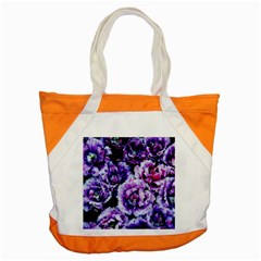 Purple Wildflowers Of Hope Accent Tote Bag by FunWithFibro