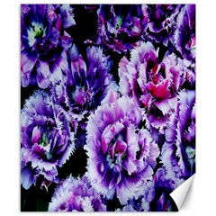 Purple Wildflowers Of Hope Canvas 8  X 10  (unframed) by FunWithFibro