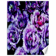 Purple Wildflowers Of Hope Canvas 12  X 16  (unframed) by FunWithFibro