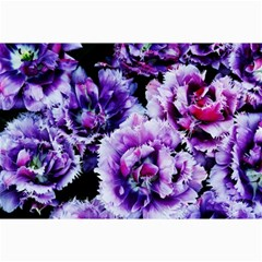 Purple Wildflowers Of Hope Canvas 12  X 18  (unframed) by FunWithFibro