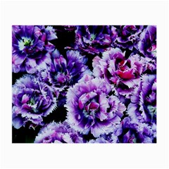 Purple Wildflowers Of Hope Glasses Cloth (Small, Two Sided)