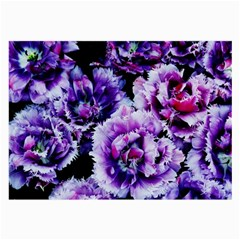 Purple Wildflowers Of Hope Glasses Cloth (large) by FunWithFibro