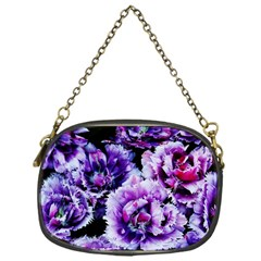 Purple Wildflowers Of Hope Chain Purse (One Side)