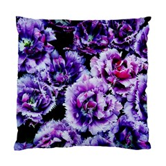 Purple Wildflowers Of Hope Cushion Case (Two Sided)