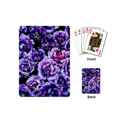 Purple Wildflowers Of Hope Playing Cards (mini) by FunWithFibro
