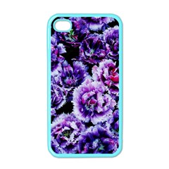 Purple Wildflowers Of Hope Apple iPhone 4 Case (Color)