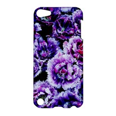 Purple Wildflowers Of Hope Apple Ipod Touch 5 Hardshell Case by FunWithFibro