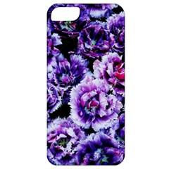 Purple Wildflowers Of Hope Apple Iphone 5 Classic Hardshell Case by FunWithFibro