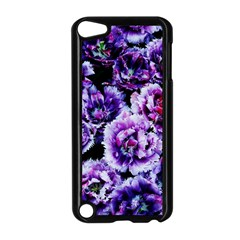 Purple Wildflowers Of Hope Apple iPod Touch 5 Case (Black)
