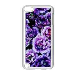 Purple Wildflowers Of Hope Apple iPod Touch 5 Case (White)