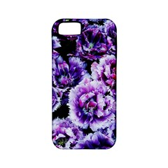Purple Wildflowers Of Hope Apple iPhone 5 Classic Hardshell Case (PC+Silicone)