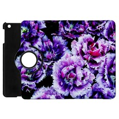 Purple Wildflowers Of Hope Apple Ipad Mini Flip 360 Case by FunWithFibro