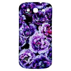Purple Wildflowers Of Hope Samsung Galaxy S3 S Iii Classic Hardshell Back Case by FunWithFibro