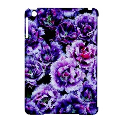 Purple Wildflowers Of Hope Apple Ipad Mini Hardshell Case (compatible With Smart Cover) by FunWithFibro