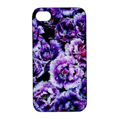 Purple Wildflowers Of Hope Apple iPhone 4/4S Hardshell Case with Stand