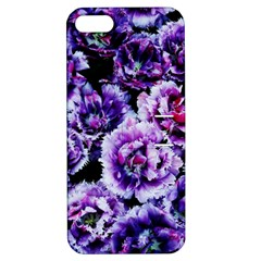 Purple Wildflowers Of Hope Apple iPhone 5 Hardshell Case with Stand