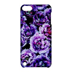 Purple Wildflowers Of Hope Apple iPod Touch 5 Hardshell Case with Stand