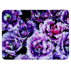 Purple Wildflowers Of Hope Samsung Galaxy Tab 7  P1000 Flip Case by FunWithFibro