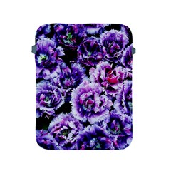 Purple Wildflowers Of Hope Apple Ipad Protective Sleeve by FunWithFibro