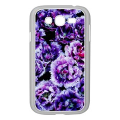 Purple Wildflowers Of Hope Samsung Galaxy Grand DUOS I9082 Case (White)