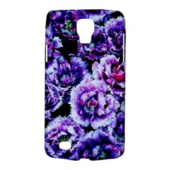 Purple Wildflowers Of Hope Samsung Galaxy S4 Active (I9295) Hardshell Case