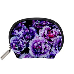 Purple Wildflowers Of Hope Accessories Pouch (Small)