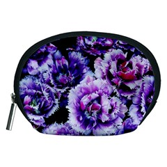 Purple Wildflowers Of Hope Accessories Pouch (Medium)