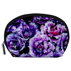 Purple Wildflowers Of Hope Accessories Pouch (Large)