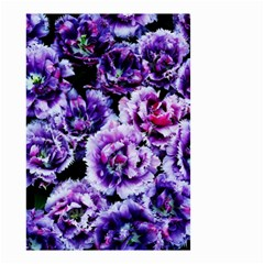 Purple Wildflowers Of Hope Small Garden Flag (two Sides) by FunWithFibro