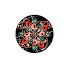 Luxury Ornate Artwork Golf Ball Marker 4 Pack (for Hat Clip) by dflcprints