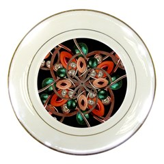 Luxury Ornate Artwork Porcelain Display Plate by dflcprints