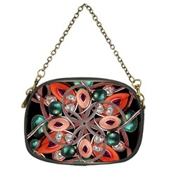 Luxury Ornate Artwork Chain Purse (one Side) by dflcprints