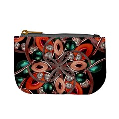 Luxury Ornate Artwork Coin Change Purse